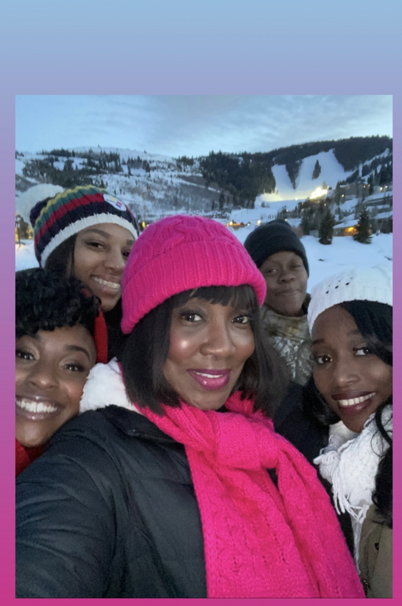 Monique-Shanaya-Angela-Sallie-Franquita-Snowshoeing-Sundance-2020