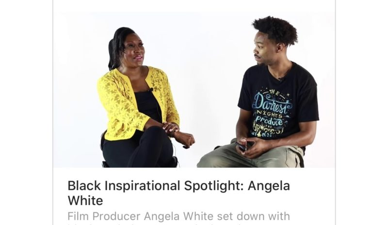 Black Inspirational Spotlight: Angela White
