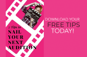 Download your free audition tips!