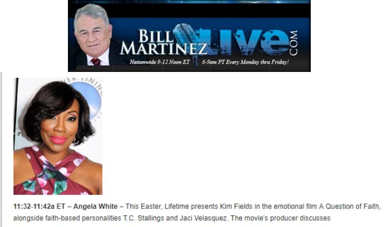 Bill Martinez with Angela White