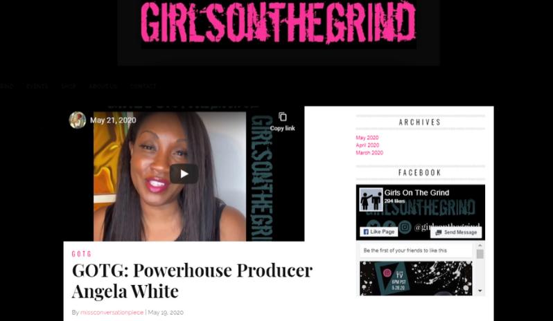 Girls on the Grind: Powerhouse Producer Angela White