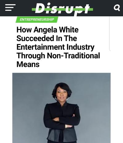 Disrupt Magazine featuring Angela White