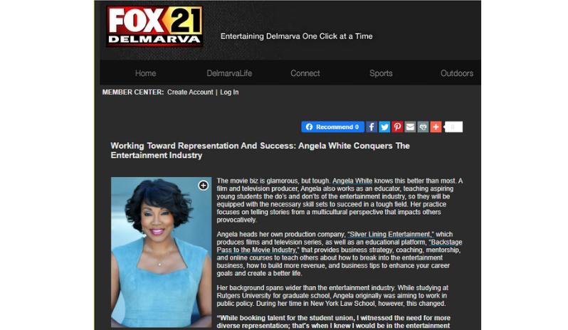 Fox 21 with Angela White
