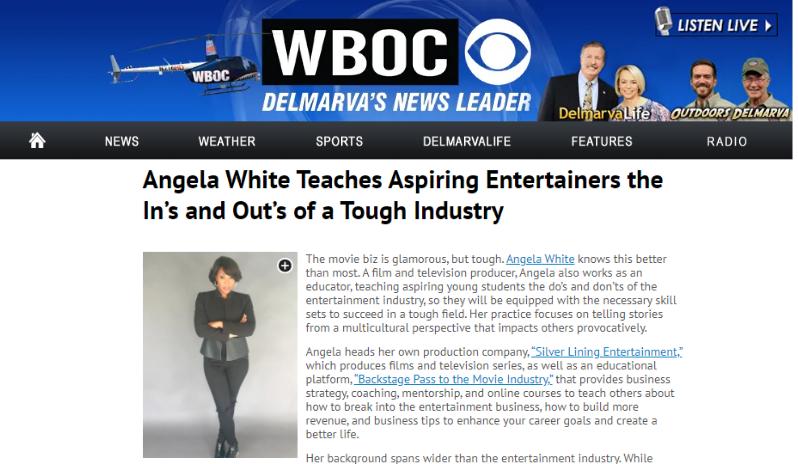 WBOC CBS with Angela White