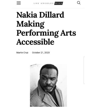 Los Angeles Wire Nakia Dillard
