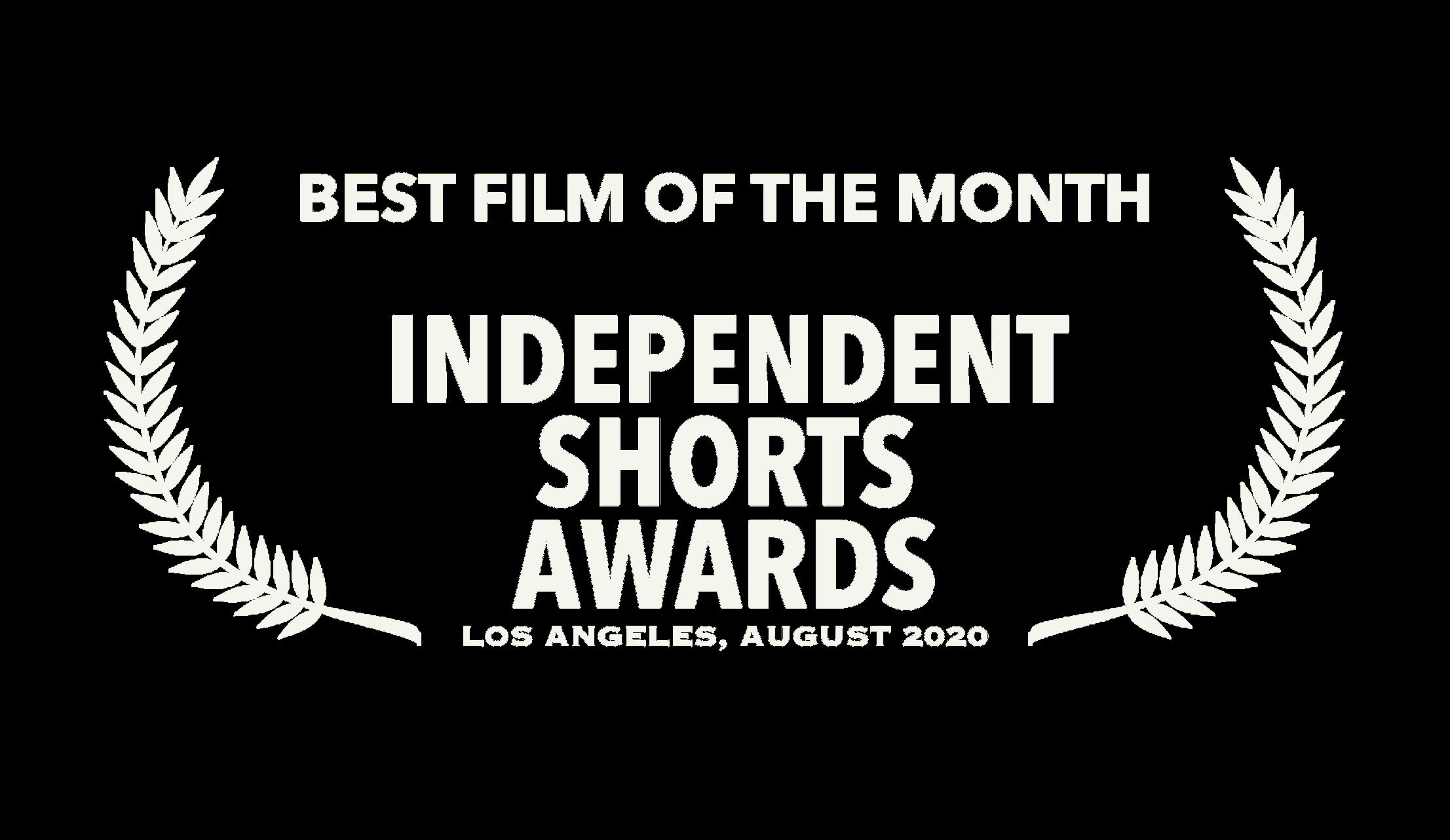 Independent Shorts Awards Winner