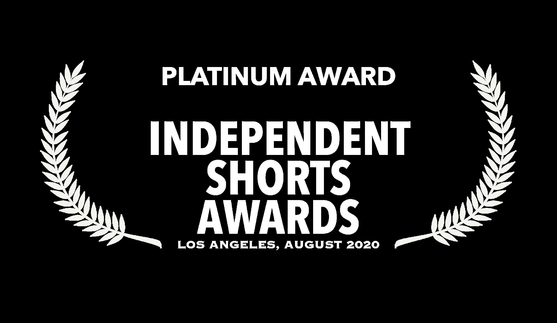 Independent Shorts Awards Platinum Winner