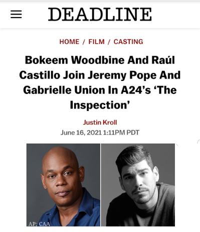 Deadline - The Inspection