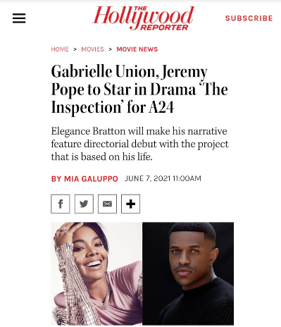 The Hollywood Reporter - The Inspection